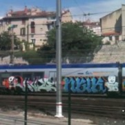 132 crew - Train video in Marseille