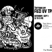 Fuzi in NYC -Tatoo session