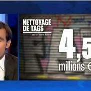 """""""Vandalisme : la facture des tags"""" JT France 2 / 12.09.2012"""