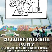 Overkill - 20 years birthday party
