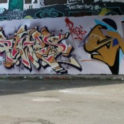 Horfe , Bates and Smash137 @ STUCK ON THE CITY EXHIBITION + RECAP