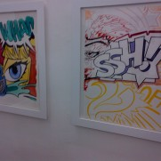 "CRASH : ""Letting Ink Dry"" @WALLWORK GALLERY (Paris)"