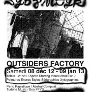 Outsiders Factory Lausanne: Sybz & Meyk