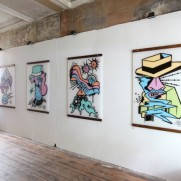 "GOLDEN GREEN ""BORDERLINE"" ARTSHOW (recap)"