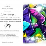 Dize exhibition - Graff & Page at Adodart Galerie
