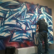 Darco 'Gor' Fbi live-painting at Artcurial