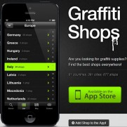 Graffiti shops app for iPhone