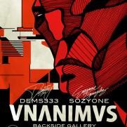 Dems & Sozy - Vnanimvs - at Backside gallery (Marseille)
