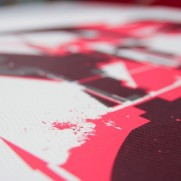 Ground release silkscreens / Dems, Dem189, Roid, Pant1
