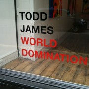 @TODDREASJAMES : WORLD DOMINATION