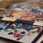 @MONOKROME 2 graffiti book flipthrough