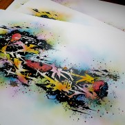 "KOOLFUNC'88 ""COSMIC SLAYER"" SUPERCUSTOM PRINTS @UBGANG"