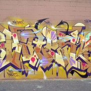 Bates Happy birthday wall with Wane, Bate, Rime, Enue