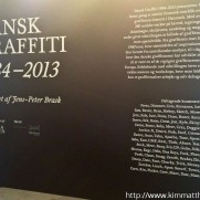 Dansk Graffiti 1984- 2013 exhibition report