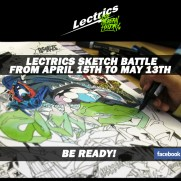 Lectrics sketch battle