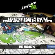 Lectrics sketch battle