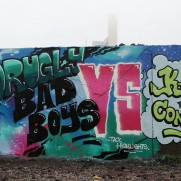 PUBB VS KCN - Abyss birthday wall