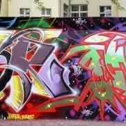 TCK walls by Plak, Inka, Drik, Esor, Psok