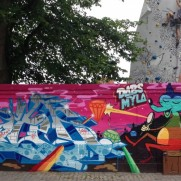 Wall by Tiws, Dabs, Myla, Enue and Soten