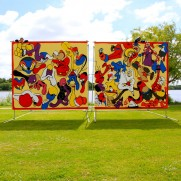 Cony & Horfee at Viborg International Billboard Painting Festival