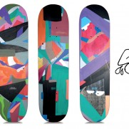 New 242 skateboards models design by Supe