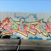 God Is Good wall by JayOne