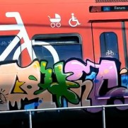 Trainspotting video in Copenhagen - Graffalpha