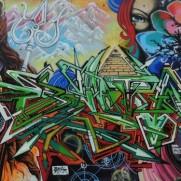 Hamburg Heimfeld wall feat. Nomad, Enta, Poet, Emir, Shy