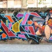 Blok x Sozy x Mode x Pro x Oter wall in Valencia