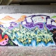 DNS crew wall - Town x Kube x Pain