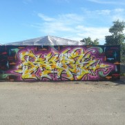 Walls of Fame tour with Bates x Mad.C and Kaos
