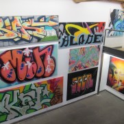 SHOW RECAP- Graffiti in the beginning - Spacejunk gallery Lyon