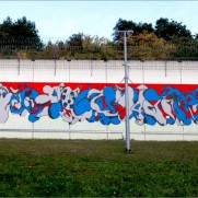 WALL - Horfee and Ken Sortais - Rockenberg prison (Germany)
