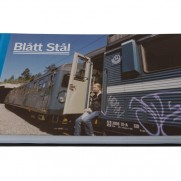 BOOK - Blatt Stal (Blue Steel) - Stockholm trainwriting history