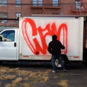 VIDEO - Wane COD handstyle on a truck