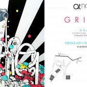 SHOW - Gris1 in Montpellier at At Down gallery