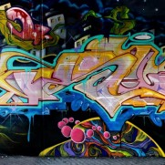 VIDEO - PAIN & KUBE - UPC crew mural