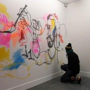 VIDEO - JAYONE  PAINTING A MURAL IN BORDEAUX