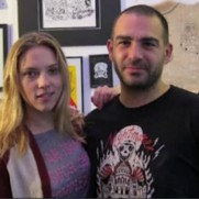 Fuzi, le tatoueur de Scarlett Johansson (french)