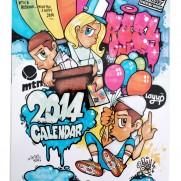 2014 Calandar by RosyOne