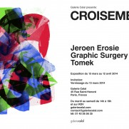 SHOW - TOMEK, EROSIE & GRAPHIC SURGERY AT CELAL GALERY