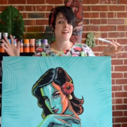VIDEO- HOW TO CREATE A CANVAS ARTWORK