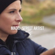 VIDEO - Day in the life of a street artist: Mad C