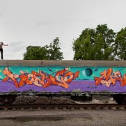 VIDEO- MOLOTOW TRAIN - Romeo & Mega