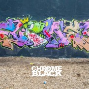 VIDEO-Chrome & Black: Winter Graffiti Battle, London, UK.