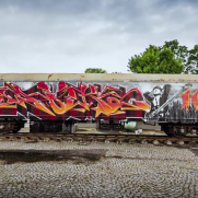 VIDEO - Molotow train x WOK